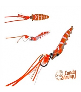 CANDY SHRIMP  30GRS ORANGE FIGHT