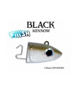 BLACK MINNOW  CABEZAA Nº3 25GRS
