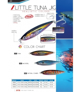 DTD LITTLE TUNA JIG 30GRS