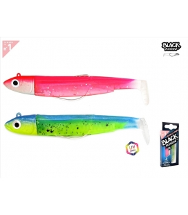 DOBLE COMBO BLACK MINNOW Nº:1