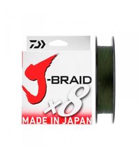 TRENZADO DAIWA J-BRAID X 8 DARK GREEN